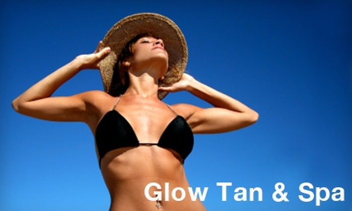 Glow Tan & Spa - Mayfield: $25 for Two Spray Tans at Glow Tan & Spa ($55 Value)