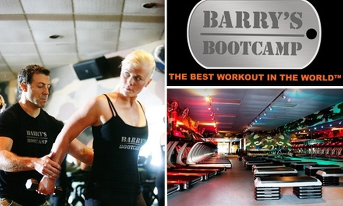 Barry's Bootcamp - Hillcrest: $25 for Three Classes at Barry's Bootcamp ($65 Value)