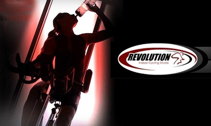 Revolution Indoor Cycling Studio - Montville: $30 for Five Spinning Classes at Revolution Indoor Cycling Studio in Pine Brook ($60 Value)