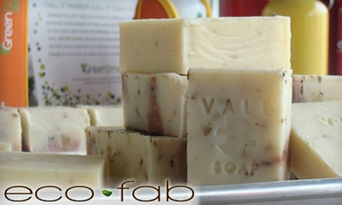 Eco Fab - Little Rock: $12 for $25 Worth of Eco-Friendly Soaps and Drink Ware at Eco Fab