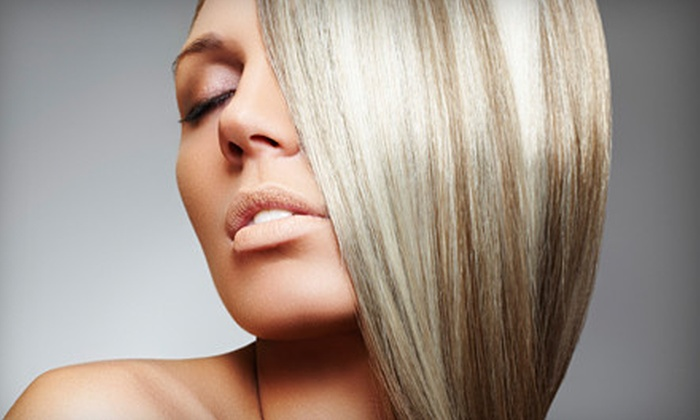 Hair Razors Salon and Spa - Sherwood: One, Two, or Three Keratin Treatments at Hair Razors Salon and Spa (Up to 78% Off)