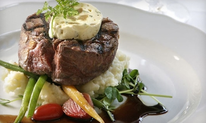 Idlewyld Inn - London: $20 for $40 Worth of Gourmet Dinner Fare at Idlewyld Inn (or $10 for $20 Worth of Lunch Fare)