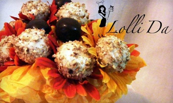 Lolli Da - Lakeland: $10 for a Dozen Lollicakes at Lolli Da ($21 Value)
