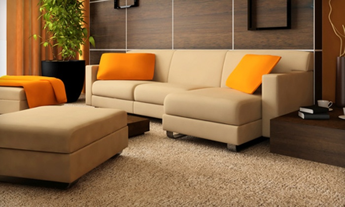 The Steam Team - Brentwood: $49 for Deep-Steam Carpet Cleaning for Two Rooms and Bottle of Spot Cleaner from The Steam Team ($104 Value)