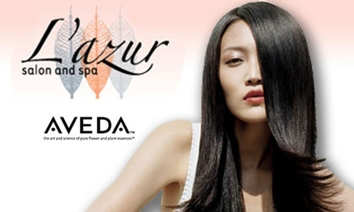 L'azur Salon and Spa - Cameron Park: $50 for $100 Worth of Massages, Haircuts, Manicures, and More at L'azur Salon and Spa