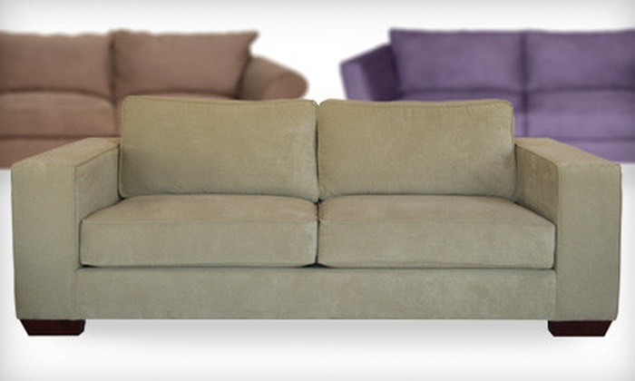 The Sofa Company - Multiple Locations: Custom Upholstery and Accent Chairs or Sofas at The Sofa Company (Up to 76% Off)