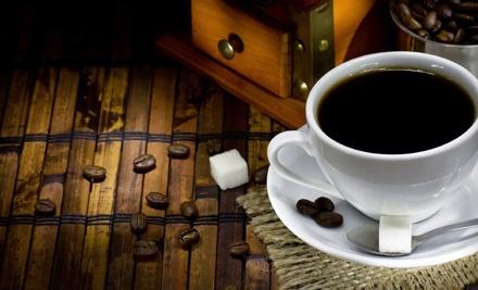 $15 Groupon to Four Beans Coffeehouse - Four Beans Coffeehouse in Batavia