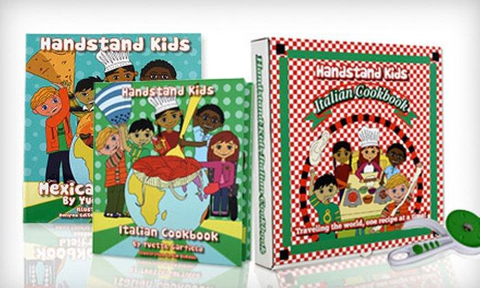 Handstand Kids Cookbook Kits: $15 for a Handstand Kids Chinese, Italian, or Mexican Cookbook Kit ($25 Value)