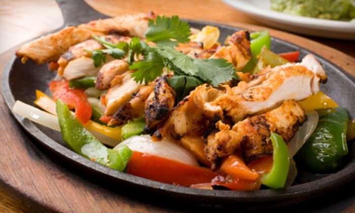 La Quesadilla Mexican Grill - St. John: $20 for a Fajita Dinner and Drinks for Two at La Quesadilla Mexican Grill in St. John, Indiana (Up to $43.96 Value)