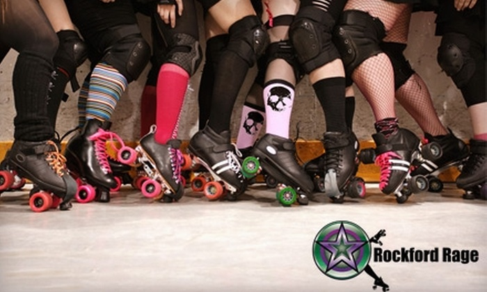 Rockford Rage - Loves Park: $10 for Two Adult Tickets to the Rockford Rage Women's Roller Derby ($20 Value) in Loves Park