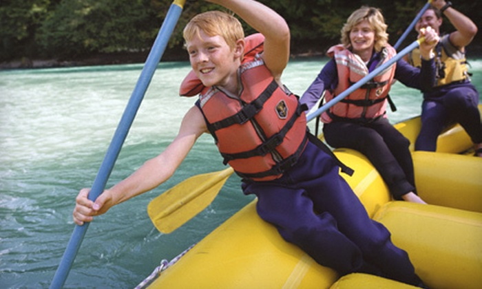 Eagle Bluff Resort - North Cherokee: $49 for an Illinois River Rafting Trip for Up to Four from Eagle Bluff Resort in Tahlequah ($101.40 Value)