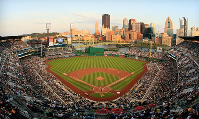 Pittsburgh Pirates - Pittsburgh: Ticket to a Pittsburgh Pirates Game. Eight Games and Three Seating Options Available.
