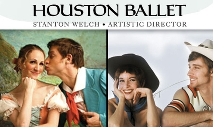 "Houston Ballet - Downtown: $30 for Orchestra-Aisle Seating to ""Pecos"" on June 5 or ""La Fille mal gardée"" on June 19 at Houston Ballet ($65 Value)"