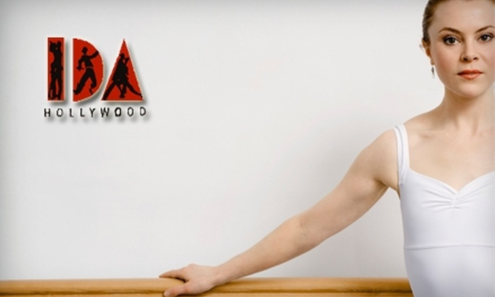 International Dance Academy - Hollywood: $22 for a Four Dance-Class Pass at International Dance Academy in Hollywood ($45 Value)