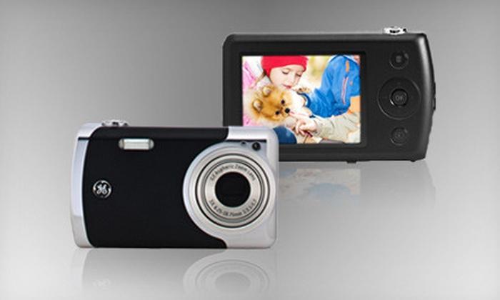 GE Digital Camera Designed by Jason Wu: $59 for a Create Metal 12-Megapixel Digital Camera in Black from uBid ($129.99 Value)