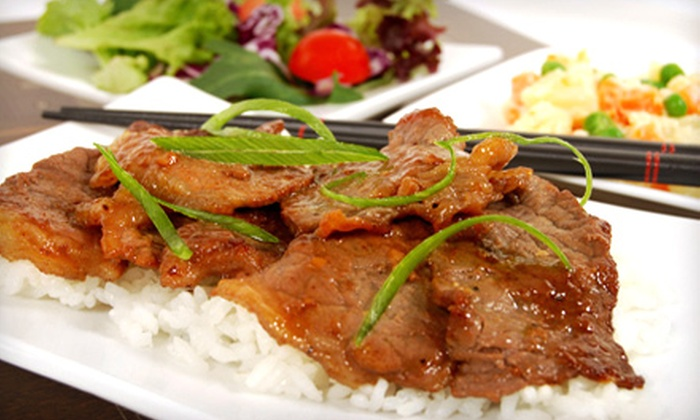 Hot Wok Delivery - Coon Rapids: $14 for Four Combination Plates of Chinese Fare from Hot Wok Delivery in Coon Rapids (Up to $29.55 Value)