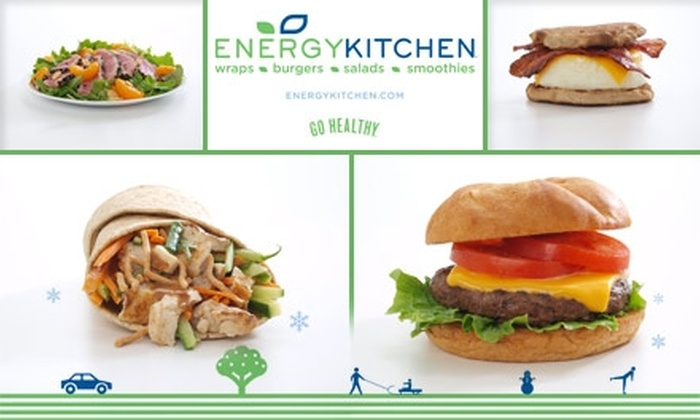 Energy Kitchen - New York City: $10 for a $20 Gift Card to Energy Kitchen