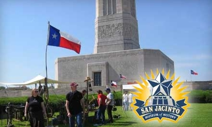 San Jacinto Museum of History - Southeast Harris: One-Year Dual Membership or Family Membership to the San Jacinto Museum of History. Choose Between Two Options.