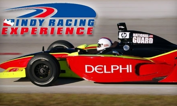 Indy Racing Experience - Walt Disney World Resort: $199 for Eight Laps of IndyCar Driving at Walt Disney World Speedway with Indy Racing Experience ($424 Value)