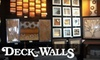 Deck The Walls - Multiple Locations: $50 for $100 Worth of Custom Framing at Deck The Walls