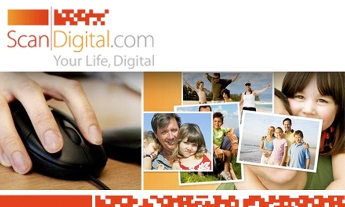 Scan Digital: $40 for $100 Worth of Memory Preservation from ScanDigital Photo and Video Digitization