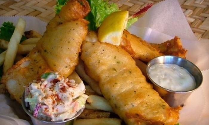 The Village Pub - Park Shore: $10 for $20 Worth of Seafood and Pub Fare at The Village Pub