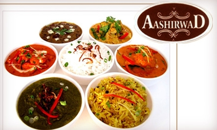 Aashirwad - Florida Center: $15 for $30 Worth of Indian Fare and Drinks at Aashirwad
