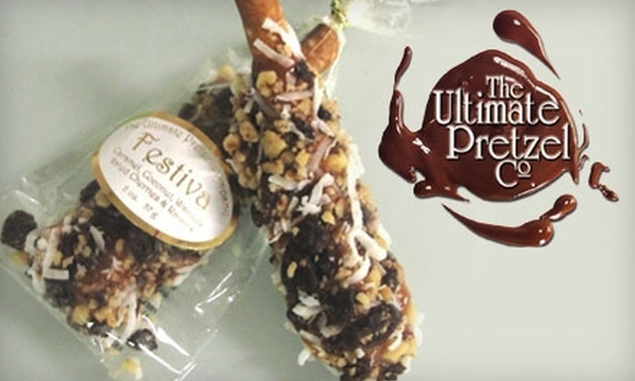The Ultimate Pretzel Company: $10 for $20 Worth of Gourmet Pretzel Treats at The Ultimate Pretzel Company