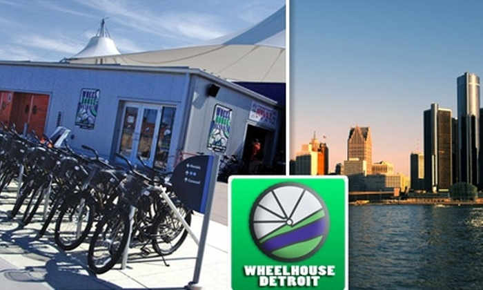 Wheelhouse Detroit - Downtown: $15 for Your Choice of Bike Tour and Bike Rental with Wheelhouse Detroit ($35 Value)