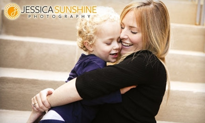 Jessica Sunshine Photography - Downtown: $84 for a 45-Minute Family Portrait Session Including One Digital Image File from Jessica Sunshine Photography