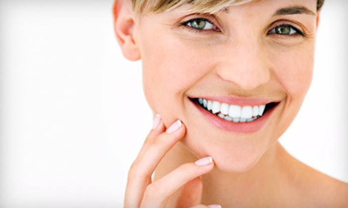 Hairfree Laser Skin Clinics - Multiple Locations: One or Two Teeth-Whitening Sessions at Hairfree Laser Skin Clinics (Up to 80% Off)