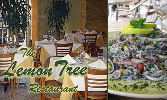 The Lemon Tree Restaurant - Multiple Locations: $10 for $20 Worth of Scrumptious, Authentic Peruvian Fare at The Lemon Tree Restaurant