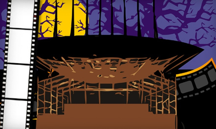 Koka Booth Amphitheatre - Cary: $3 for A Reel-ly Scary Cary Halloween Movie Series for Two at Koka Booth Amphitheatre ($6 Value). Five Shows Available.