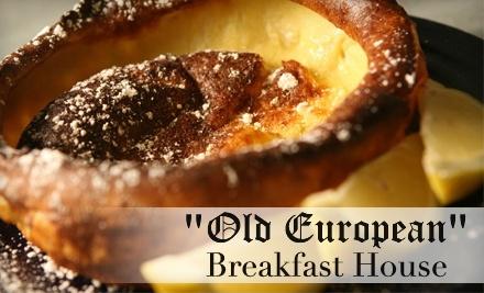 $16 Groupon to Old European Restaurant - Old European Restaurant in Post Falls