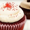 49% Off Assorted Cupcakes at Red Velvet Cupcakery