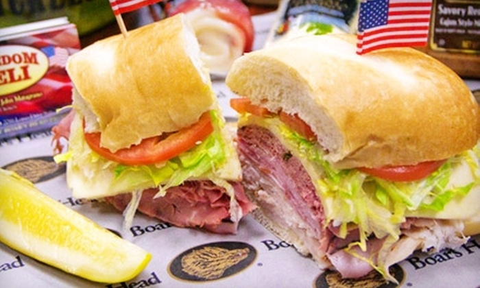 Freedom Deli - Nashville: $35 for $70 Worth of Catered Sandwiches from Freedom Deli in Clarksville