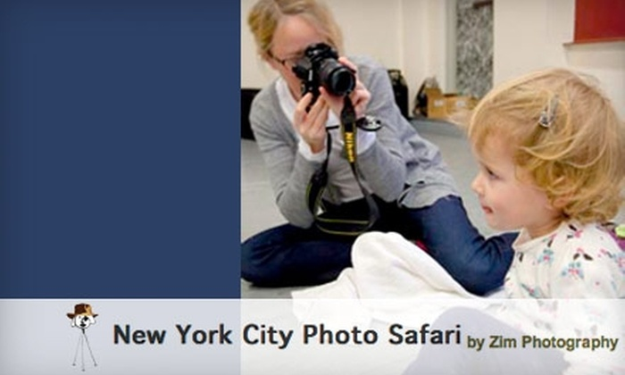 New York City Photo Safari - North Jersey: $65 for a 90-Minute Candid Kids Photo Safari at New York City Photo Safari ($160 Value)