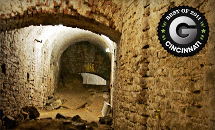 Queen City Underground Tour - Queen City Underground Tour by American Legacy Tours in Cincinnati