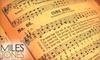 Milestones Music - Larchmont Hills: $50 for Four Piano or Guitar Lessons at Milestones Music in Fair Oaks ($100 Value)