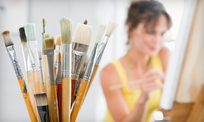 Art-Sea Living - Palm Beach: $39 for Two Admissions to Canvas and Cocktails Class at Art-Sea Living ($80 Value)
