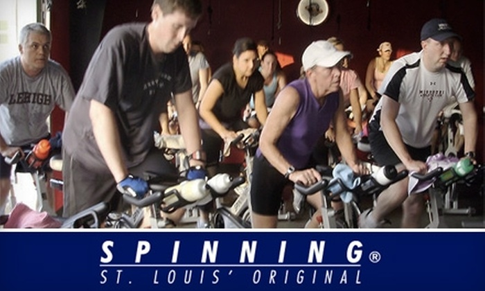 St. Louis Spinning - Brentwood: $19 for a Five-Class Card at St. Louis Spinning ($50 Value)