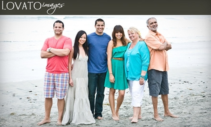 Lovato Images - Orange: $65 for Family Portrait Session from Lovato Images ($295 value)