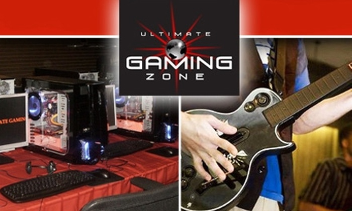 Ultimate Gaming Zone - Gaithersburg: $12 for Three Hours of Gaming and Snacks at Ultimate Gaming Zone ($29 Value)