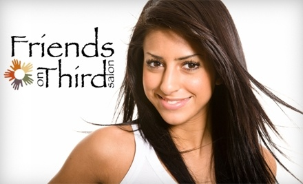 $50 Groupon to Friends on Third Salon - Friends on Third Salon in Hamilton