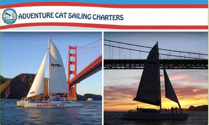 Adventure Cat Sailing Charters - San Francisco: $15 for a Bay Cruise with Adventure Cat ($30 Value)