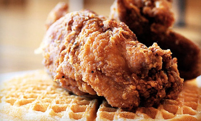 Gussie's Chicken and Waffles - Western Addition: Soul Food at Gussie's Chicken and Waffles (Half Off). Two Options Available.