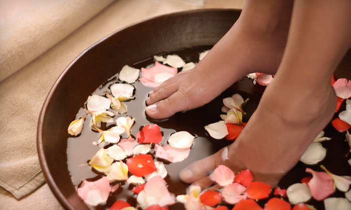 Paradise At Your Feet - South Plainfield: One, Two, or Three Signature Pedicures with Foot Massages at Paradise at Your Feet in South Plainfield (Up to 63% Off)