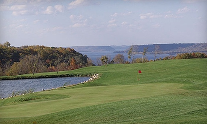 Lake Pepin Golf Course - Lake City: $30 for a Cart and 18 Holes of Golf for Two (Up to a $76 Value) Plus 15% Off First Menu Item at Lake Pepin Golf Course in Lake City