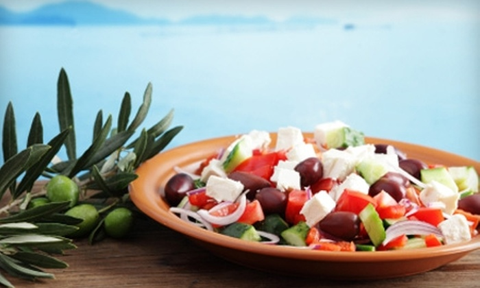 Panos Kouzina - Amber Glades: $10 for $20 Worth of Greek Island Cuisine and Drinks at Panos Kouzina in Safety Harbor