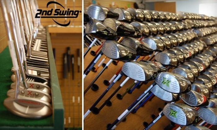 2nd Swing Golf - Multiple Locations: $15 for $30 Worth of Used Golf Equipment at 2nd Swing Golf